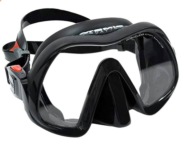 Atomic Aquatics Venom Frameless diving mask