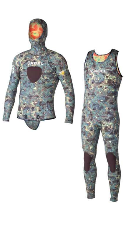 Men's 2-Piece 3mm Thermoflex Free Diver TDC Suit