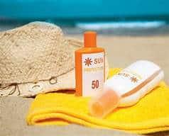 sun block lotion