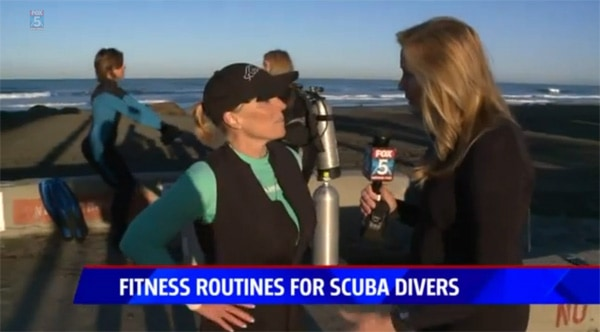 fitness routines for scuba divers
