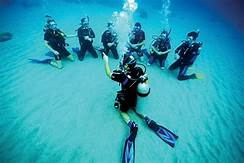 scuba beginners guide: training underwater