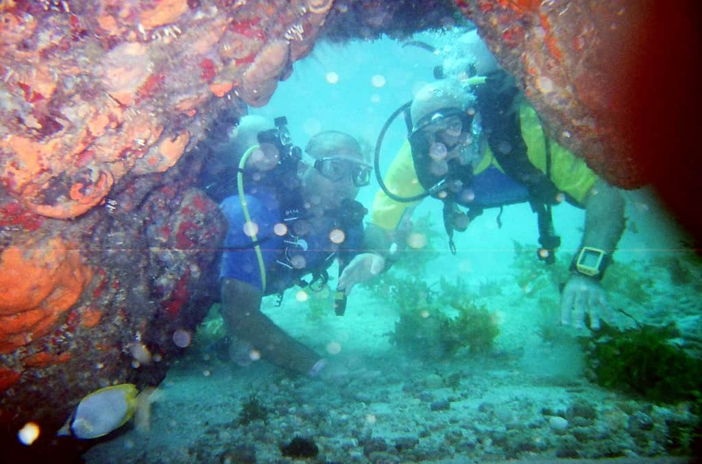 cancun mexico diving spot